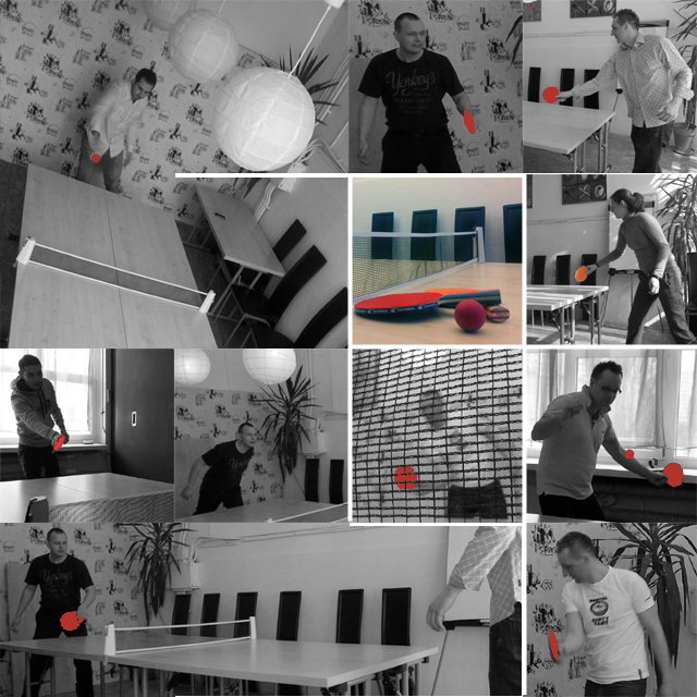 Ping-pong w biurze coworkingowym - zdjęcie