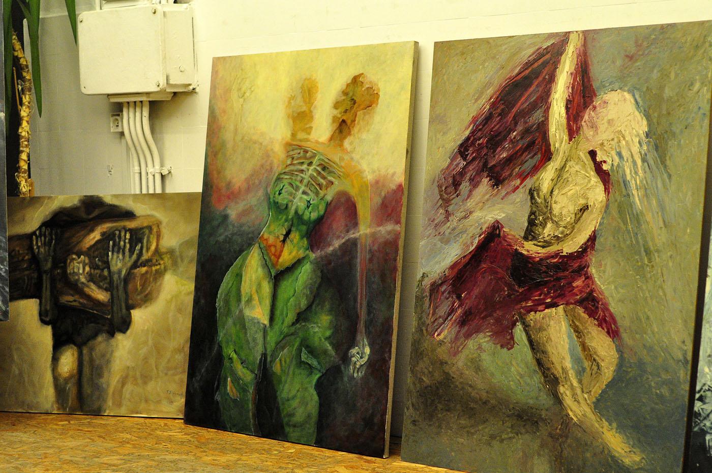malarstwo Tomka Staszewskiego w biurze