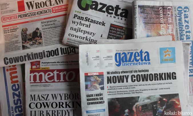 Coworking - przegląd prasy