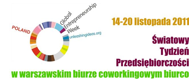 Coworking w służbie przedsiębiorczości - biurco partnerem Światowego Tygodnia Przedsiębiorczości 2011