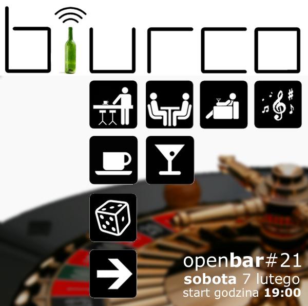 OPENBAR - imprezowe oczko coworkingu biurco - 7 lutego 2015.