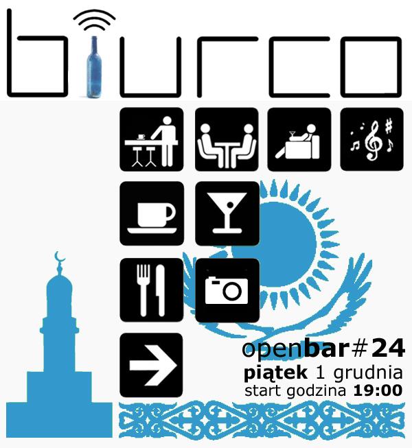 OPENBAR i prezentacja podróżnicza Kazachstan