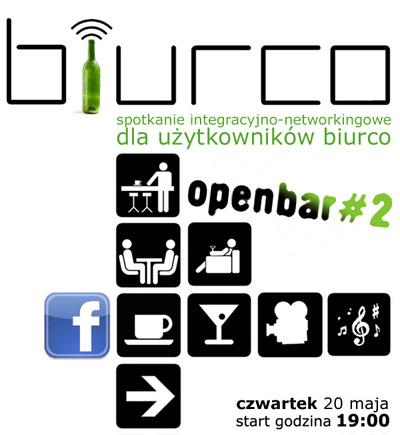 OPENBAR - spotkanie integracyjne Użytkowników biurco w czwartek 20. maja