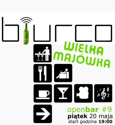 OPENBAR - spotkanie integracyjne Użytkowników biurco - 20 maja.